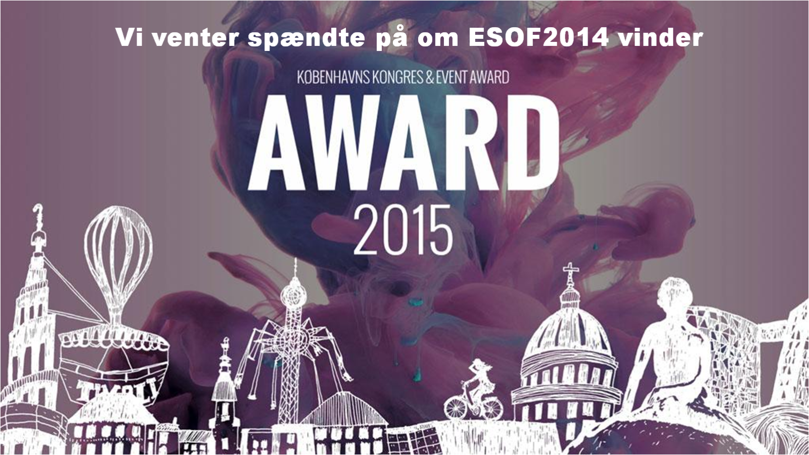 ESOF2014 nominated to CPH Congress & Event Award 2015