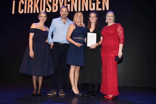 Crone & Co vinder pris som Årets Samarbejdspartner